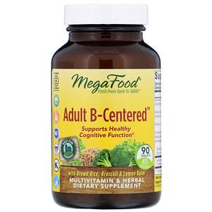 Мегафудс, Adult B-Centered, 90 Tablets отзывы