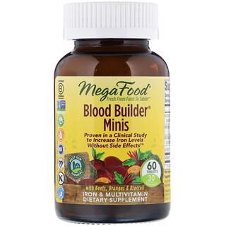 MegaFood, 血液ビルダーミニ、60錠