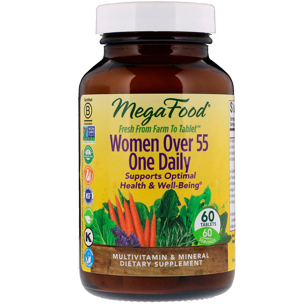 One Daily, Multivitamin & Mineral, Women Over 55, 60 Tablets