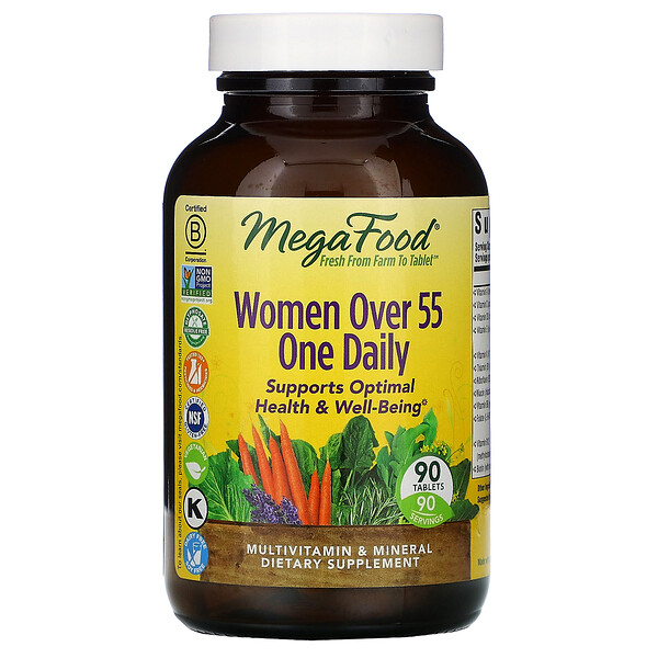 Women Over 55 One Daily, 90 Tablets