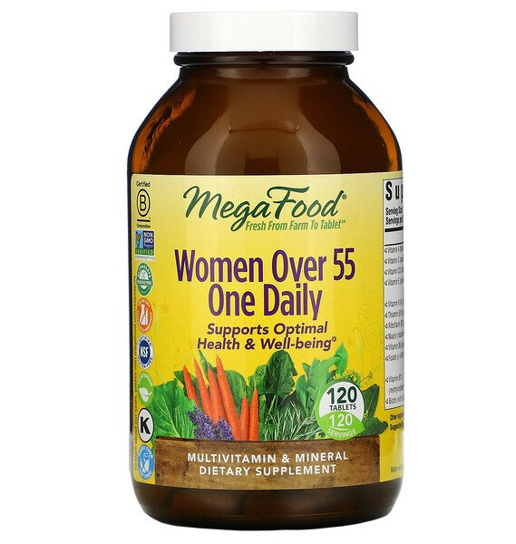 Women Over 55 One Daily, 120 Tablets