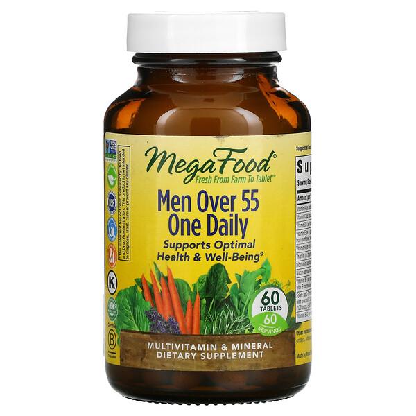 Hombres mayores de 55años, Un comprimido diario, 60comprimidos
