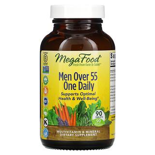 MegaFood, One Daily para hombres de más de 55 años, 90 comprimidos