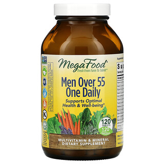 MegaFood, Hombres mayores de 55años, Un comprimido por día, 120comprimidos