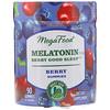 MegaFood, Melatonin, Berry Good Sleep, Berry, 3 mg , 90 Gummies