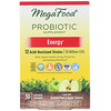 MegaFood, Probiotic Supplement, Energy, 30 Capsules