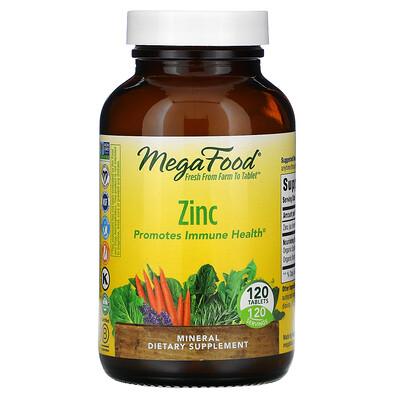 MegaFood Zinc, 120 Tablets