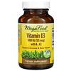 MegaFood, витаминD3 с витаминамиK и K2, 5000МЕ (125мкг), 120капсул