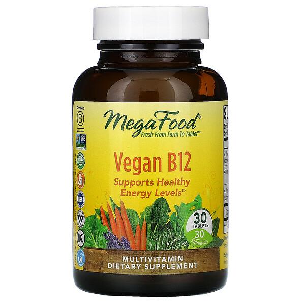 Vegan B12, 30 Tablets