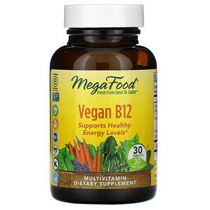 Мегафудс, Vegan B12, 30 Tablets отзывы