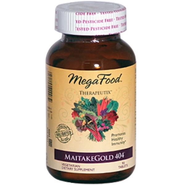 MegaFood, Therapeutix, MaitakeGold 404, 90 Tablets (Discontinued Item)