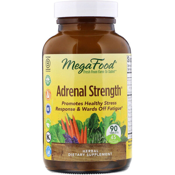 Adrenal Strength, 90 Tablets