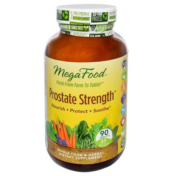 MegaFood, Prostate Strength, 90 Tablets (Discontinued Item)