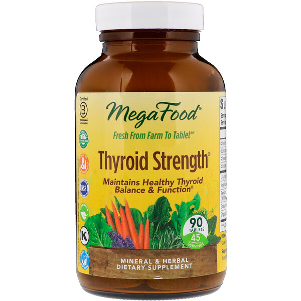 Thyroid Strength, 90 Tablets