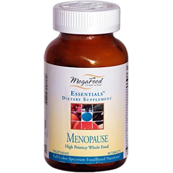 MegaFood, Essentials, Menopause, 90 Tablet (Discontinued Item)