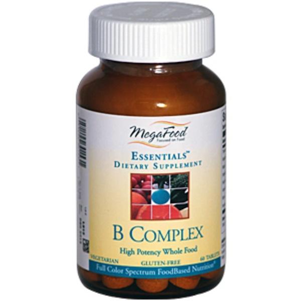 MegaFood, Essentials, B-Complex, 60 Tablets (Discontinued Item)