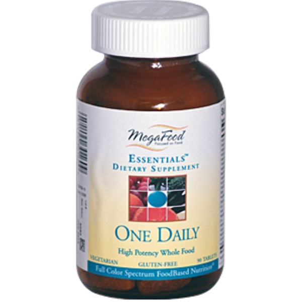 MegaFood, Essentials, One Daily, 90 Tablets (Discontinued Item)