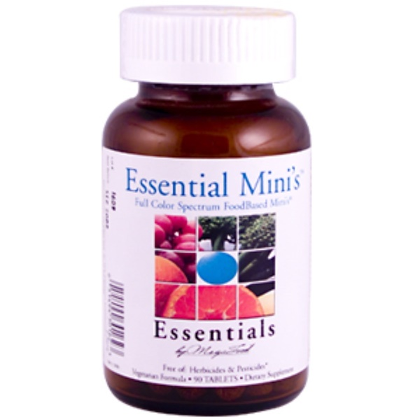 MegaFood, Essential Mini's, 90 Tablets (Discontinued Item)