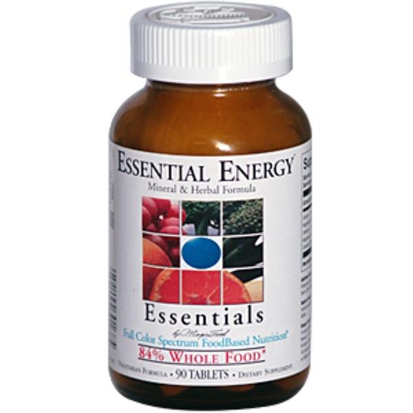 MegaFood, Essentials, Essential Energy Mineral & Herbal Formula, 90 Tablets (Discontinued Item)