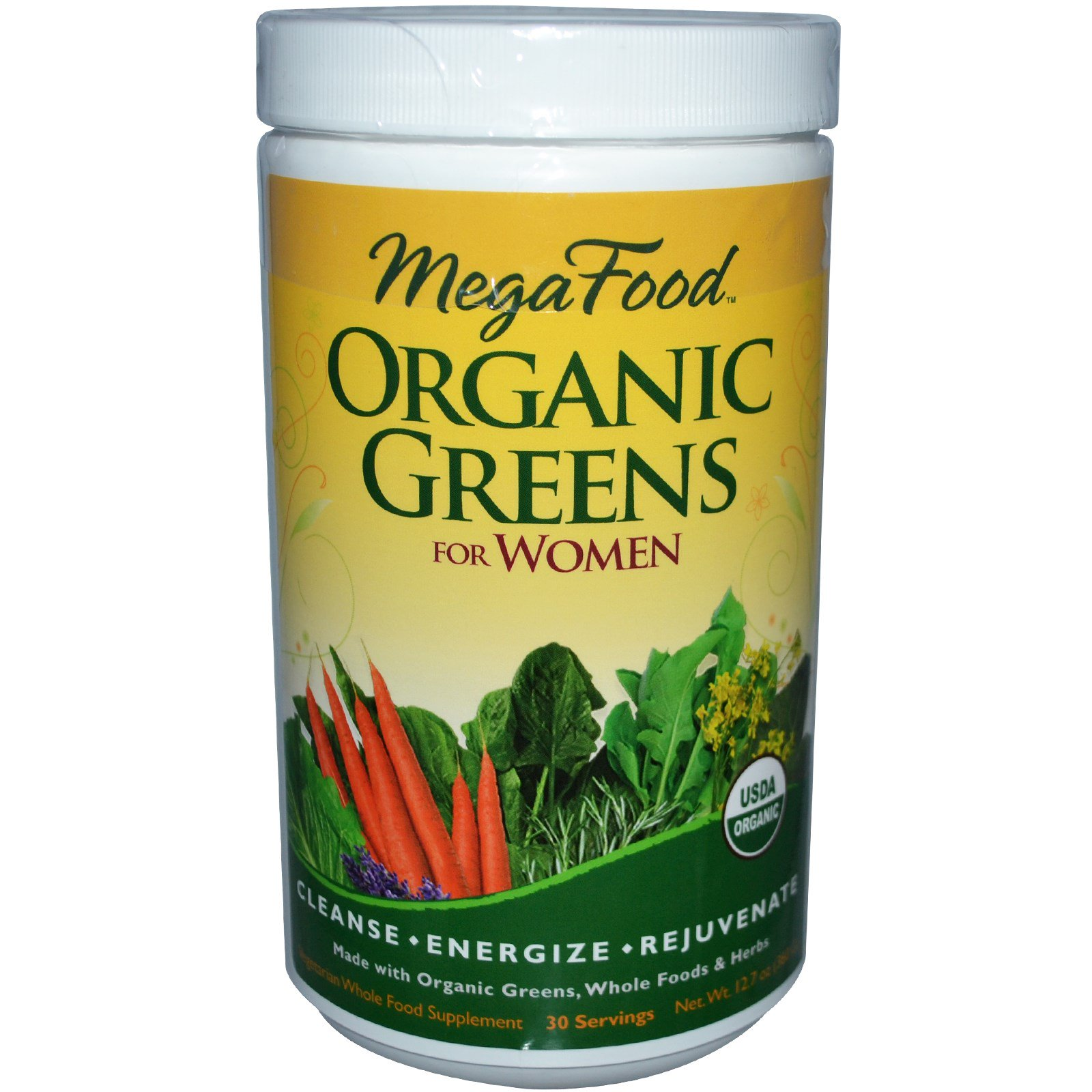 MegaFood, Organic Greens for Women, 12.7 oz (360 g) (Discontinued Item