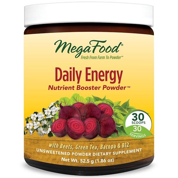 MegaFood, 每日能量增進營養粉,1、86盎司(52、5克)