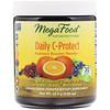 MegaFood, Daily C-Protect, порошок с высоким содержанием питательных веществ, без подсластителей, 2,25 унц. (63,9 г)