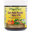 MegaFood, Daily Multi Powder for Baby & Me, 5.33 oz (151.2 g)