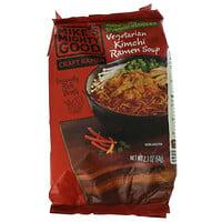 Mikes Mighty Good, Craft Ramen, Vegetarian Kimchi Ramen Soup, 2.3 oz (64 g)