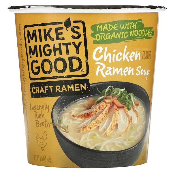 Craft Ramen Cup, Chicken Ramen Soup, 1.6 oz (48 g)