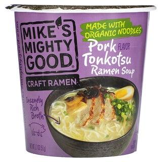 Mikes Mighty Good, Craft Ramen Cup, Pork Tonkotsu Ramen Soup, 1.7 oz (51 g)