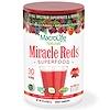 Macrolife Naturals, Miracle Reds, súper suplemento de alimentos cardio antioxidante, 10 oz (283,5 g)