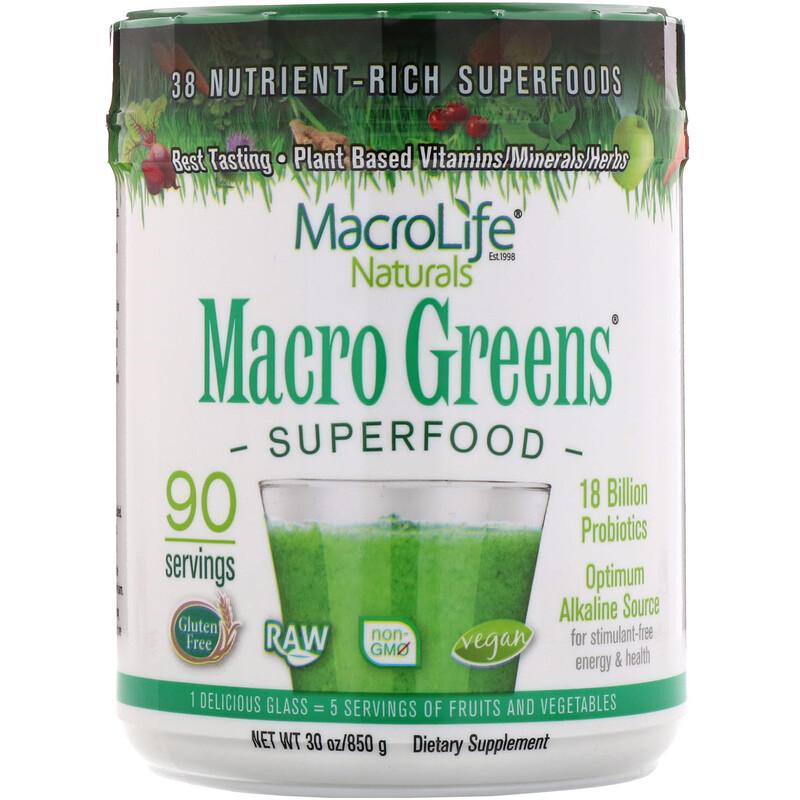 Macro Greens, Superfood, 30 oz (850 g)