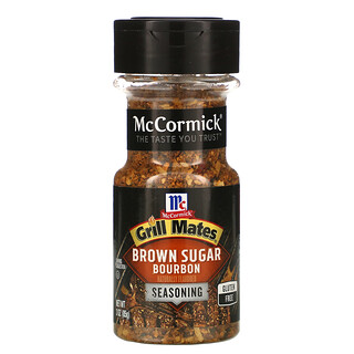 McCormick Grill Mates, Brown Sugar Bourbon Seasoning, 3 oz (85 g)