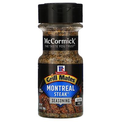 McCormick Grill Mates Montreal Steak Seasoning , 3.4 oz (96 g)