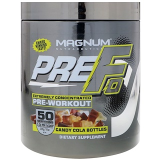 Magnum Nutraceuticals, PREFO, Pre-workout, Candy Cola Bottles, 9.1 oz (259 g)