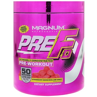 Magnum Nutraceuticals, PREFO, Pre-Workout, Strawberry Marshmallow Candy, 9.7 oz (274 g)