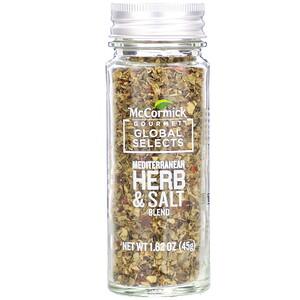 McCormick Gourmet Global Selects, Mediterranean Herb & Salt Blend, 1.62 oz (45 g) отзывы