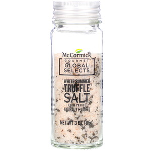 McCormick Gourmet Global Selects, White Summer Truffle Salt From France, Naturally Flavored, 3 oz (85 g) отзывы