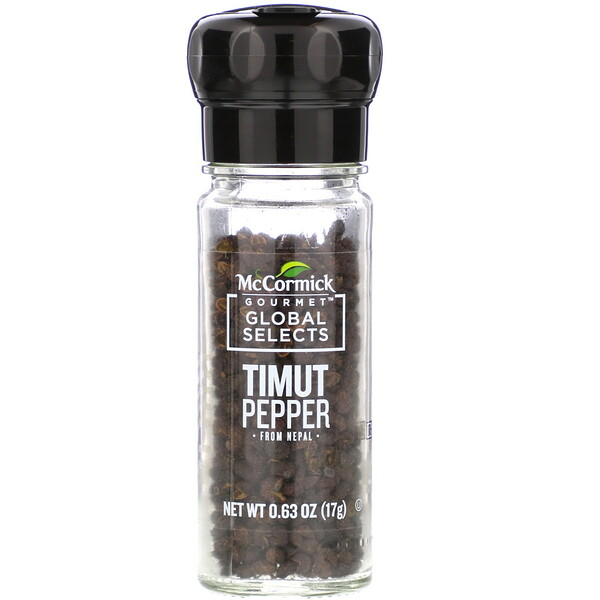 Timut Pepper From Nepal,  0.63 oz (17 g)