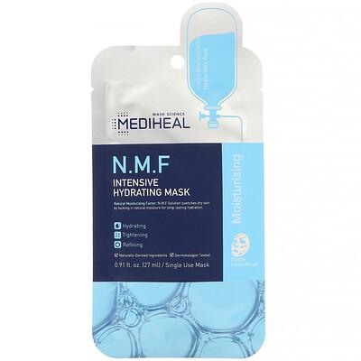 Купить Mediheal N.M.F Intensive Hydrating Mask, 1 Sheet, 0.91 fl. oz (27 ml)