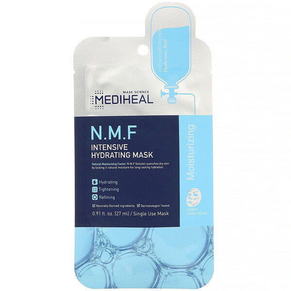Mediheal, N.M.F Intensive Hydrating Mask, 1 Sheet, 0.91 fl. oz (27 ml)