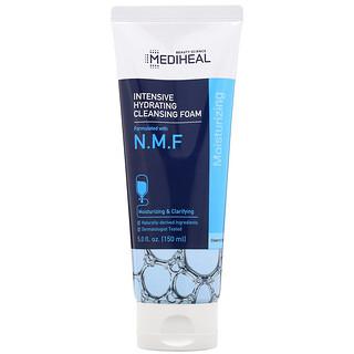 Mediheal, Espuma de Limpeza Intensiva Hidratante com N.M.F., 150 ml (5 fl oz)