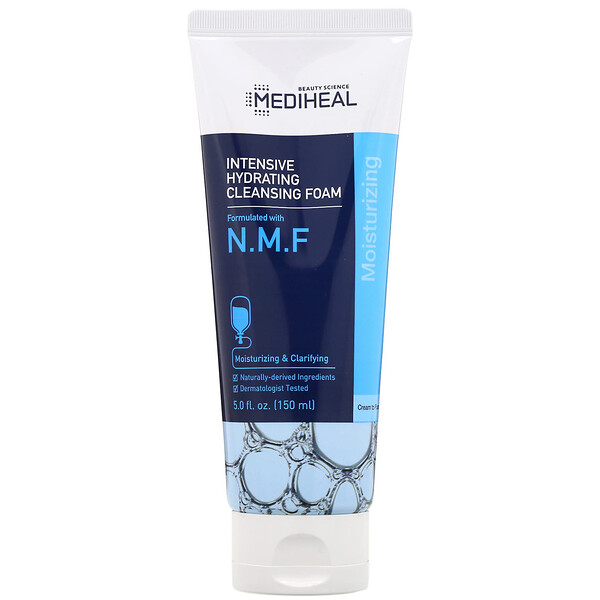N.M.F Intensive Hydrating Cleansing Foam, 5 fl oz (150 ml)