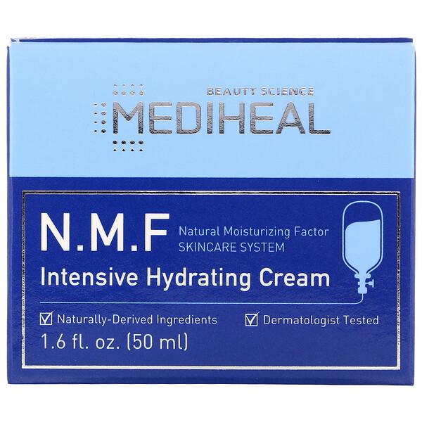 Mediheal, Creme hidratante intensivo com N.M.F, 50 ml