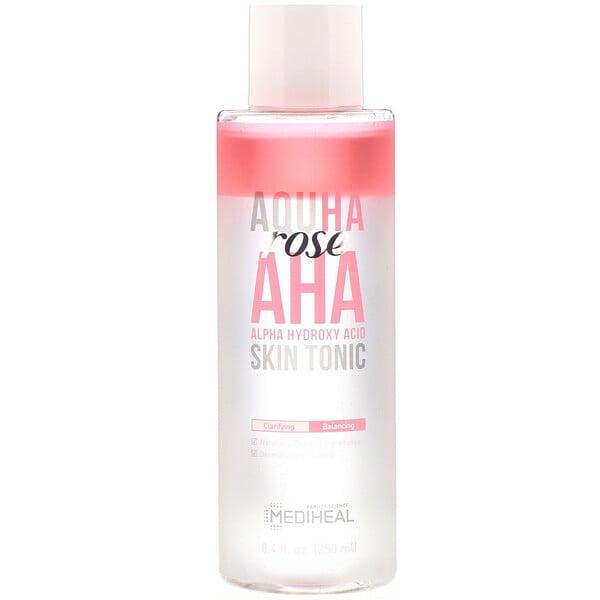AQUHA Rose, AHA Skin Tonic, 8.4 fl oz (250 ml)