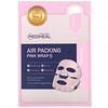 Mediheal, Mascarilla envolvente rosada rellena de aire, 5mascarillas, 20ml (0,67oz.líq.) cada una