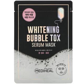 Mediheal, ホワイトニングバブルトックスセラムビューティーマスク、1枚、21ml