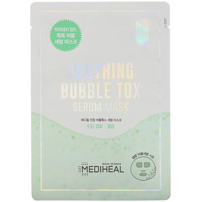 Купить Mediheal Soothing Bubble Tox Serum Mask, 1 Sheet, 18 ml