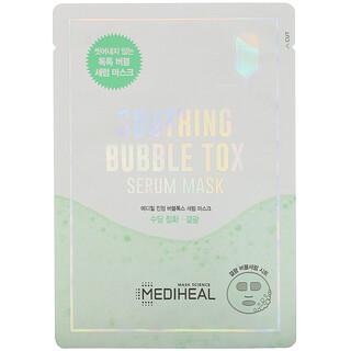 Mediheal, Soothing Bubble Tox Serum Beauty Mask,  1 Sheet, 18 ml