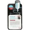 Mediheal, W.H.P. ホワイトハイドレーティングブラックマスクEX、10枚、各25 ml